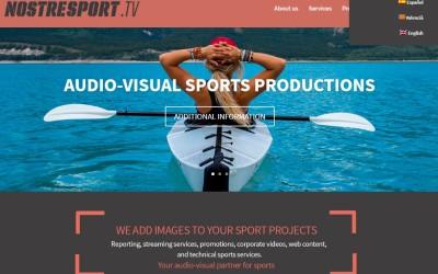 Nueva web Nostresport.tv